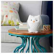 Baby Nursery Owl Song Sound Light Soother Sleep Aid Therapy White Noise Machine
