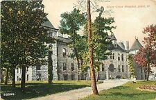 c1907 Printed Postcard; Silver Cross Hospital, Joliet IL Will County Posted