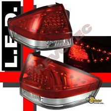 2008-2010 Ford Focus SE SEL SES 2DR Coupe & 4DR Sedan Red LED Tail Lights 1 Pair