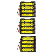 3 x 1S4P 3.7V 18650 Battery Holder Wire w/ Li-ion PCM Protection Circuit Module