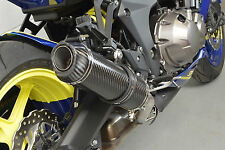 Kawasaki Z1000SX 10-16 SP Diabolus Carbon Round XLS Carbon Outlet Exhausts