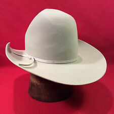 Silverbelly Resistol 5X Beaver Western Men's Hat with Silverbelly Ribbon