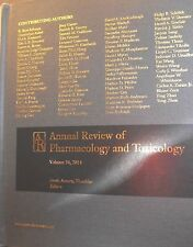 Annual Review of Pharmacology and Toxicology by AR.ORG new hardcover
