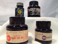 Vintage Ink - Sanford's Rubber Stamp Pad Inks Multicolor (set Of 4)