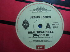 "Jesus Jones ""Real Real Real"" Excellent Oz 7"""
