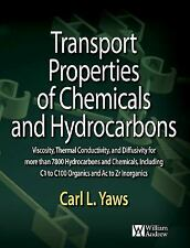 Transport Properties of Chemicals and Hydrocarbons: Viscosity, Thermal-ExLibrary