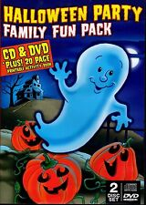 HALLOWEEN PARTY FAMILY FUN PACK: HAUNTED SOUNDS CLASSIC CARTOONS & MORE (DVD/CD)