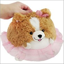 "SQUISHABLE Mini Plush Tutu Corgi 7"" round stuff animal Amazingly soft NEW in Pkg"