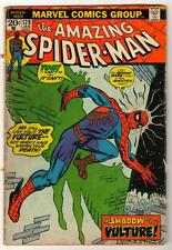 MARVEL Comics VG SPIDER-MAN Bronze #128 1973 AMAZING spiderman Vulture