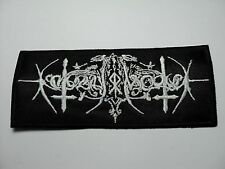 NOKTURNAL MORTUM   EMBROIDRED PATCH
