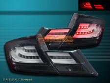 13-15 Honda Civic 4dr Sedan Black L.E.D Tail lights 4 PCS