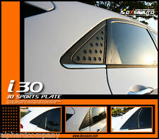 C Pillar 3D Window Glass Molding Sports Plates for 2013+ HYUNDAI i30 ELANTRA GT