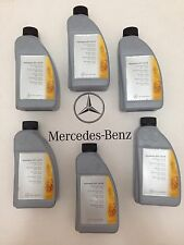 Mercedes Benz OEM Transmission Fluid Case of (6) 1 Liter Bottles 001-989-78-03