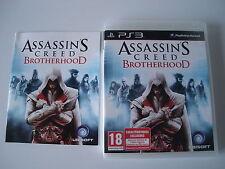 Assassin's Creed Brotherhood Complet Jeu d'Action et d'aventure sur PS3 !!!!