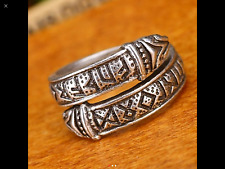 Viking Dragon Rune Celtic Ring Size S-T