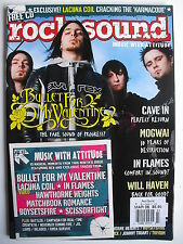 BULLET FOR MY VALENTINE March 2006 ROCK SOUND  LACUNA COIL  MOGWAI + 15 TRACK CD