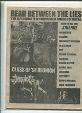 Opinionated Comsumer Guide To Metal Issue 3 May 2001 ,  91 Reunion   MBX17