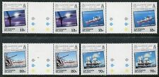 Ascension Island 351-354 gutter pair MNH Ships Lloyd's List issue x12071