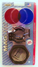 New Maglite D Cell Accessory Pack ASXX376E Mag-lite Mounts Lens Anti Roll D Cell