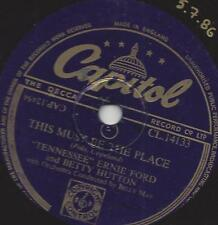 ERNIE FORD + BETTY HUTTON : This Must Be The Place + The Honeymoon's Over