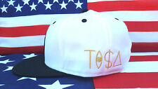 TISA Chicago Blackhawks Snapback Hat  ☆ Gold Ti$A Lettering