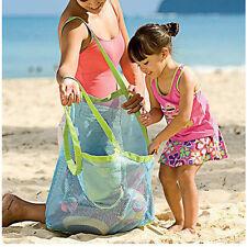 Groß Tragbar Masche Sand Beutel Ausbaggern Beutel Kinder Spielzeug Strand Tasche