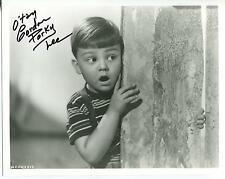"GORDON ""PORKY"" LEE 'THE LITTLE RASCALS"" ""OUR GANG""  ACTOR SIGNED PHOTO AUTOGRAPH"