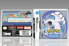 "BOITIER ""POKEMON SOUL SILVER VERSION"".NINTENDO DS, ANGLAIS. SANS LE JEU. NO GAME"