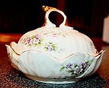 """Chantilly"" Elizabethan Fine Bone China Covered Candy Dish England"
