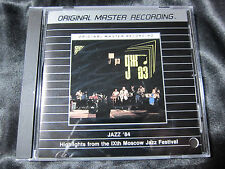 Jazz '84 Highlights rom the IXth Moscow Jazz Festival MFSL Silver CD Ships fast!