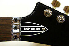 ESP TRUSS ROD COVER for ESP LTD guitar ( B&W Custom )