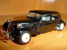 CITROEN TRACTION AVANT 1:43 BLACK