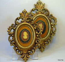 Right & Left Du Barry Cameo Pictures Arabesque by Burwood Products Co