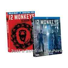 12 Monkeys: Aaron Stanford TV Series Complete Seasons 1 & 2 Box / BluRay Set(s)