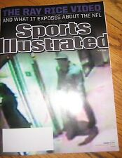 BRAND NEW NO LABEL SPORTS ILLUSTRATED  Ray Rice Video -SEPT 15, 2014-NFL exposed
