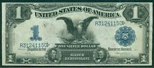 "$1 ""Black Eagle"" Silver Certificate 1899 INVERTED BACK ERROR Fr. #228 XF & RARE"