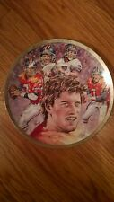 "John Elway ""Sports Impression"" collector plate"