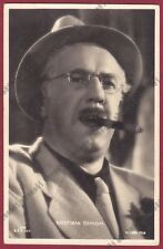 MICHEL SIMON 03 ATTORE ACTOR ACTEUR CINEMA MOVIE - SUISSE Cartolina 1941 - CIGAR
