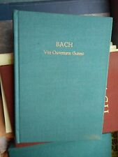 J. S. Bach: Vier Ouverturen (Suiten) Edition Peters Partitur Oln. pocket score