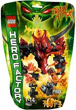 BNIB Lego Hero Factory Brain Attack 44001 PYROX - ✴ Brand new and still sealed ✴