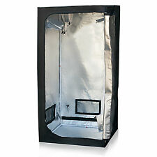 "Grow Tent Reflective Mylar 32"" X 32"" X 63"" Hydroponics Plant Growing Room New"
