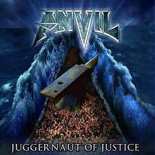 Anvil Juggernaut Of Justice CD NEW SEALED 2011 Metal