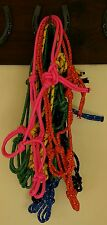 Pony Rope Halter- Green, Pink, Yellow, Blue, Red, Black