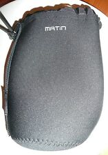 Matin Neoprene waterproof Black Soft Camera Lens Pouch bag Case CHRISTMAS GIFT?