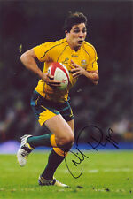 Nick Phipps, Australia, Wallabies, signed 12x8 inch photo. COA.