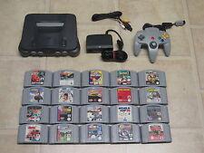 Nintendo 64 komplett mit Controller + 3 Gratis Spiele