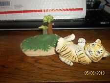 1995 HAMILTON COLLECTION PROTECT NATURE'S INNOCENTS BENGAL TIGER FIGURINE