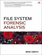 File System Forensic Analysis, Carrier, Brian