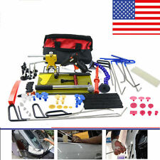 PDR Rods Car Paintless Hail Repair Glue Puller Removal Tools Kit Dent Lifter