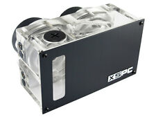 XSPC Twin D5 Dual Bay Water Cooling Reservoir Pump Combo